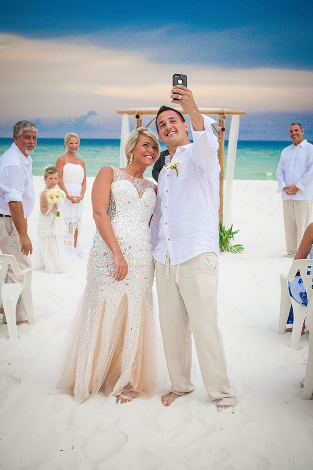 Imagine Sugar White Sand With Crystal Jewel Toned Waters Glittering In The Background Emerald Coast Is An Elegant And Unique Setting To Celebrate Your