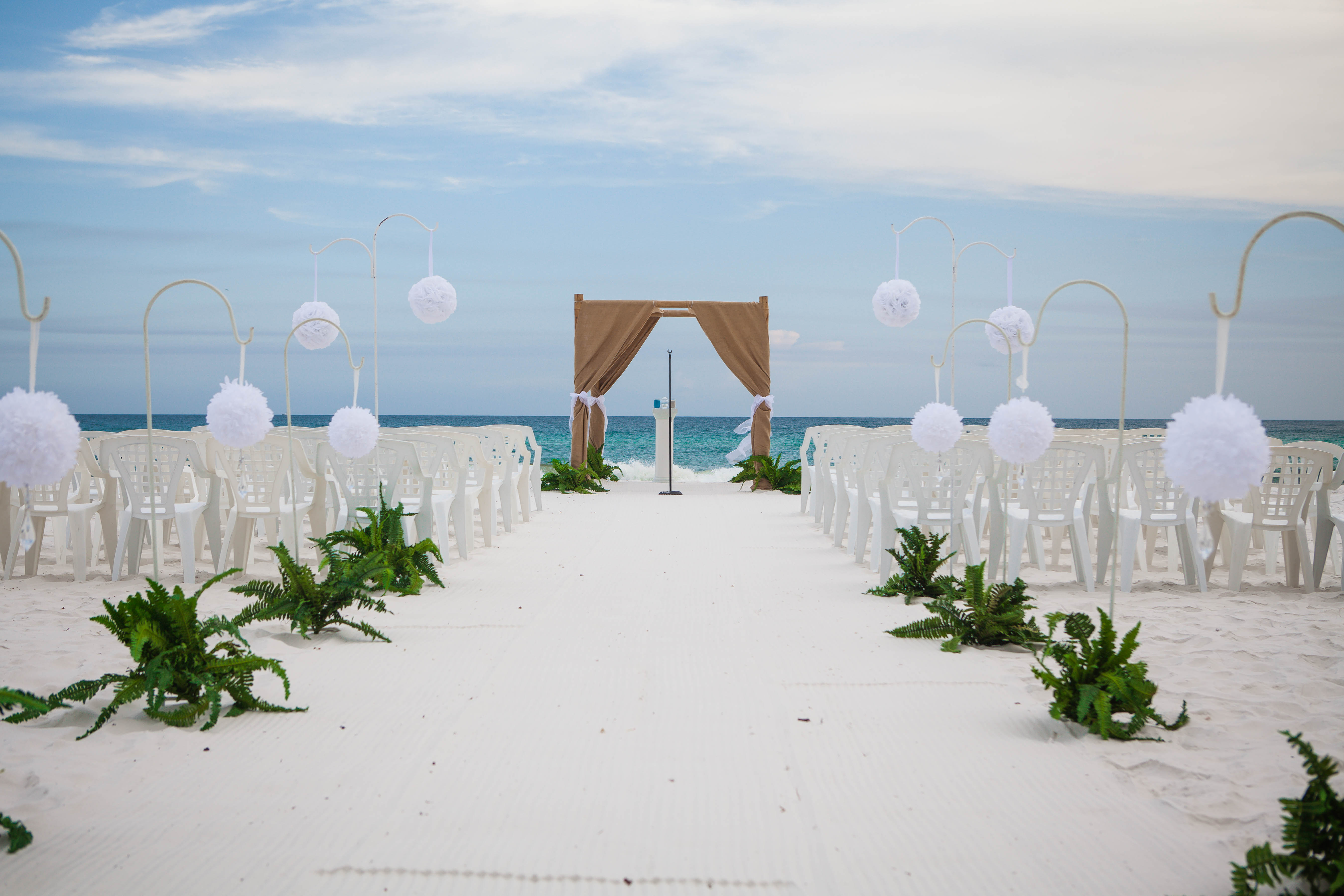 Customized Destin Florida beach wedding package